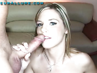 Torrie is a 19 year old little beauty with a pretty throat made for fun. This Chick actually enjoys having a 10-Pounder in her throat and proves it in a large way. That Chick sucks a giant pecker and swallows down a giant load and leaves with a smile.