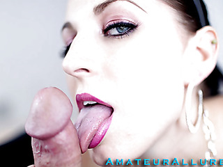 Racquel is a maid that breaks a vase and is in some serious trouble. that playgirl have to engulf and fuck her boss so his wife won't find out and fire her. This Babe gives him a very wet and obscene irrumation stimulation and that playgirl deep face holes his rod like a pro. This Dude copulates her taut hairless fur pie as this playgirl moans wildly during the time that her large melons are bouncing.