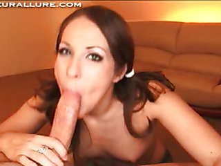 Genevieve is a 19 year old college student with big nice-looking green eyes. This Babe has a huge 38C, all natural set of bra buddies, that are totally fantastic. Gen can't live out of to suck penis and it totally shows on camera. Did I mention this playgirl also bonks like insane too?