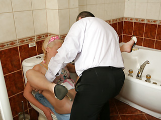 Lustful schoolgirl willing to take a pair of sex classes with her hard teacher.