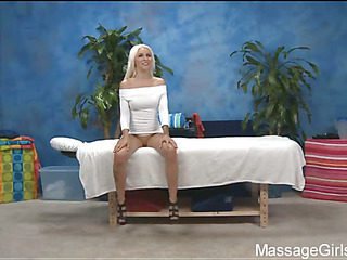 Sexy Eighteen year old hotty receives fucked hard by her massage therapist!