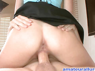 Zoe is an absolute beauty. That Chick is a tall darksome brown with short hair that was a professional mainstream model. That Chick has always liked swallowing cum and did so on her very First blowjob stimulation. Ray slips his ding-dong into her soaked throat and procedes to face fuck her. Then that guy bows her over and fucks her tight bald twat from behind in advance of shooting his sperm on her tight tummy and scooping it up with a spoon and feeding his goo to her.