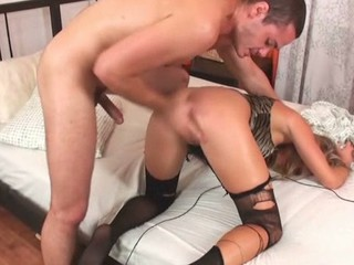 The hottie could receive strong orgasms only from anal fucking
