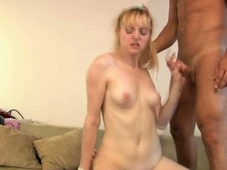 Sexy darling is giving stud a soaked oral-stimulation previous to riding it