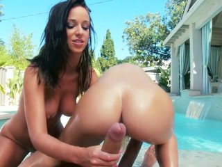 2 of the greatest asses of the industry, jointly in one scene. They know how to shake it, how to suck it and how to fuck it! Those 2 gals are highly hawt, and when they are jointly they make the perfect match!