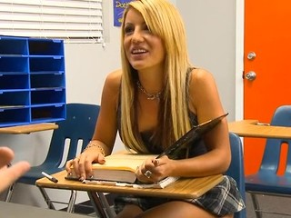 Kinky teacher examines beauty