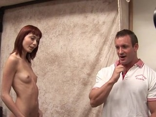 Shapely schoolgirl encounter her First large mature 10-Pounder