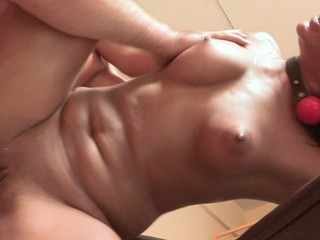 Brutal wang makes willing and willing Arab squirt and hurt.