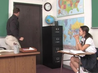 Teacher thinks it is time for his student to try a older wang