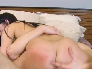 Stupid schoolgirl serves a pulsating pecker of a mature stud
