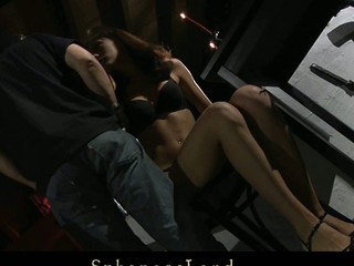 Unlucky day for thrall hotty Aspen Richardson. Her Dominant has a big mood for a painful sadomasochism. Hard spanked, whipped and fingered this honey is complete dominated and used under his kinky control
