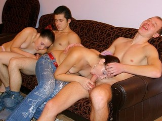 These obscene and messy-minded youthful student beauties and boyz know the most excellent way to relax after classes!