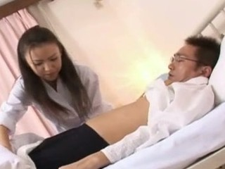 Shinobu Todaka acquires felt out by a doctor here letting him mess with her lovely hairy fur pie and then that chick ends up getting drilled like mad!