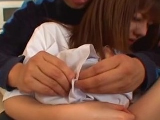 What a cute Asian schoolgirl this doxy is right here, she pretends that she is all sinless and that she doesn't crave any act from that guy but that doesn't stop her from letting that guy feel out her milk sacks and arse. She gets so turned on from the act that she gives a blowjob and gets fucked hard in her constricted Asian love tunnel like there's no fucking the next day!